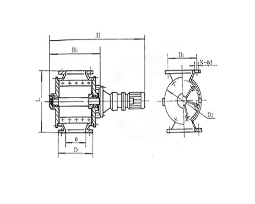 刚性叶轮给料机-GLJW