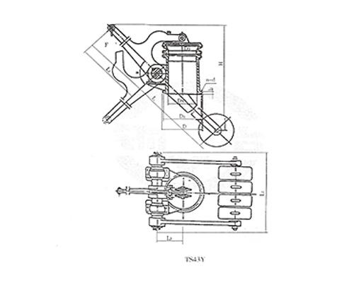 煤气放散阀-TS43Y-TS744Y(X)